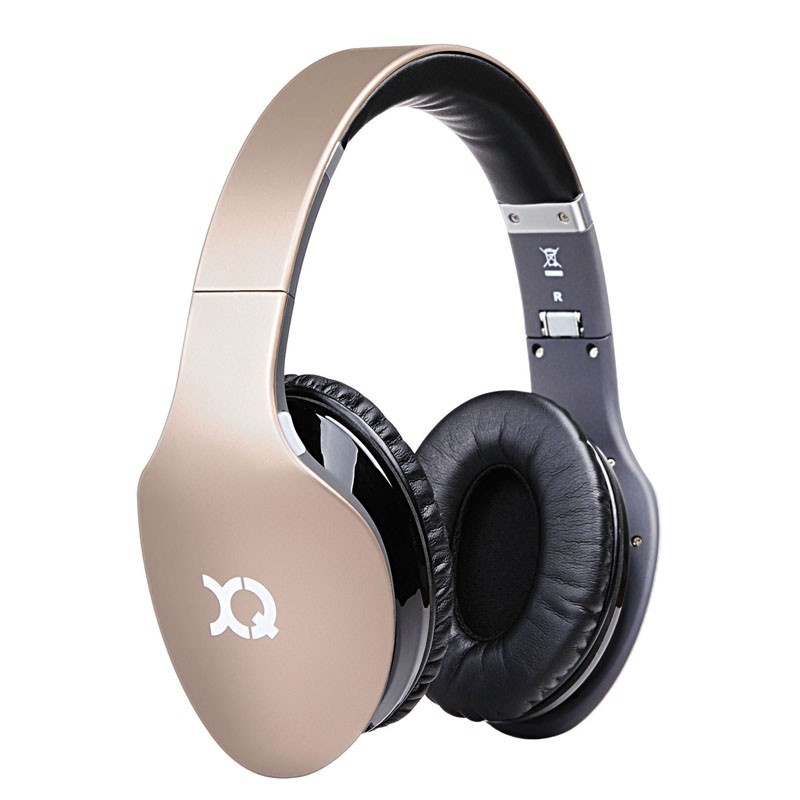 Xqisit LZ380 Bluetooth Headset Gold Matte - 1