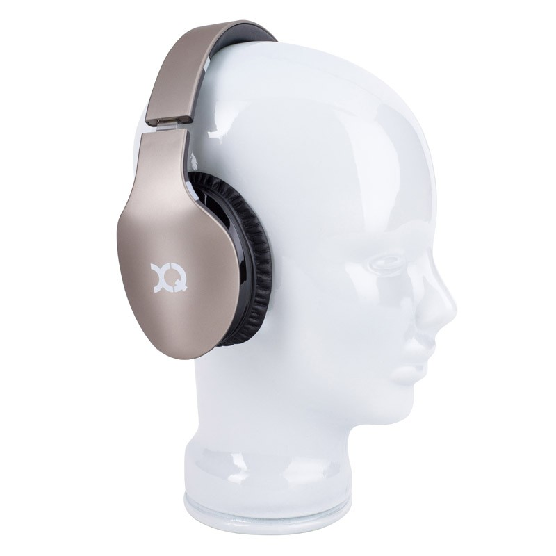 Xqisit LZ380 Bluetooth Headset Gold Matte - 4
