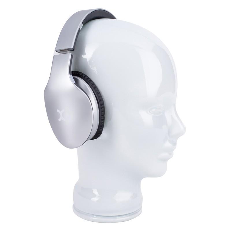 Xqisit LZ380 Bluetooth Headset Silver Matte - 4