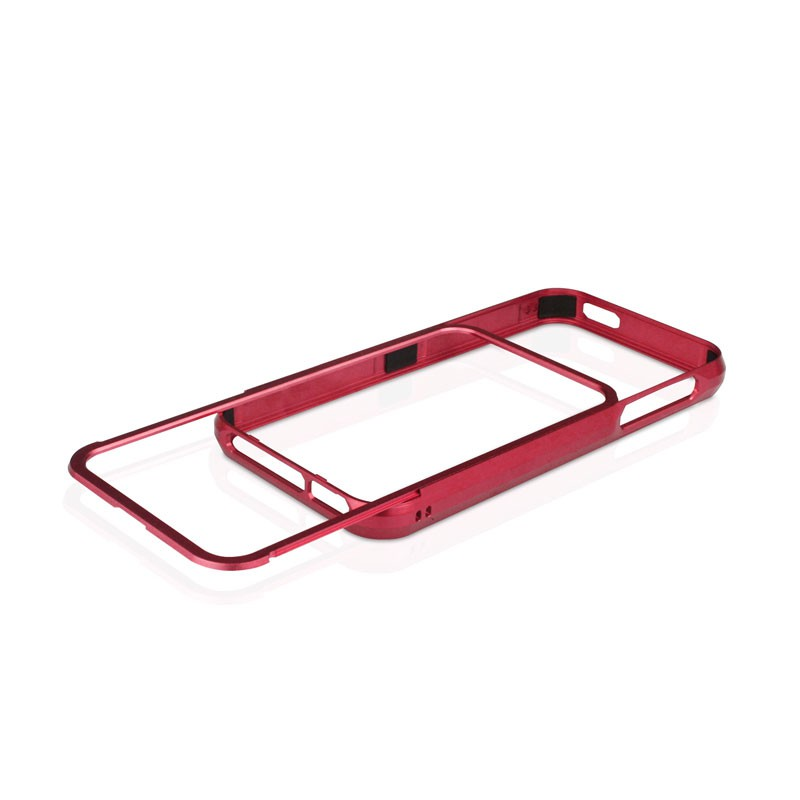Macally Aluminium Frame iPhone 5 (Red) 02