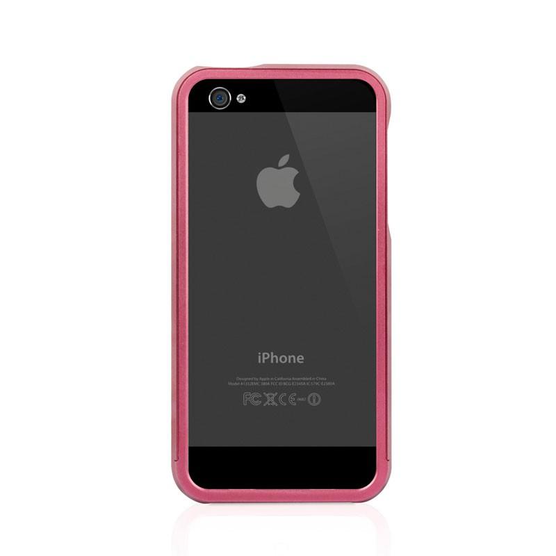 Macally Aluminium Frame iPhone 5 (Red) 04