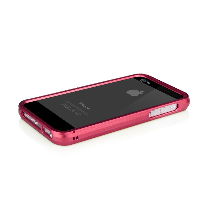 Macally Aluminium Frame iPhone 5 (Red) 10