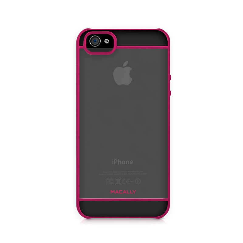 Macally Curve Case iPhone 5 (Pink) 02