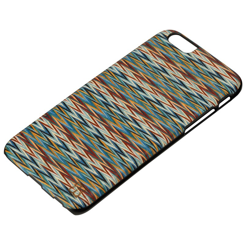 Man & Wood Houten Back Case Enricos Check iPhone 6 / 6S - 2