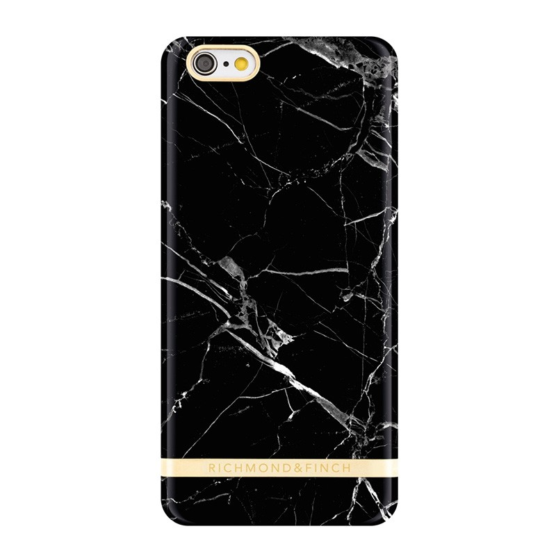 Richmond & Finch Marble Glossy iPhone 6 / 6S Black - 1