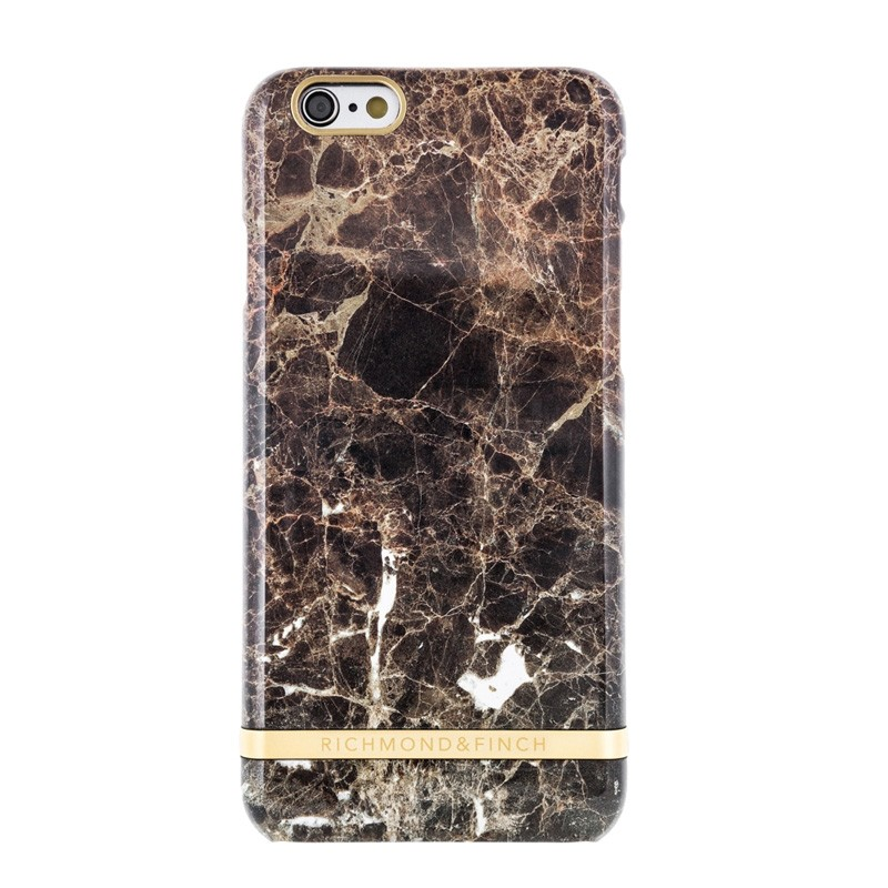 Richmond & Finch Marble Glossy iPhone 6 / 6S Brown - 1