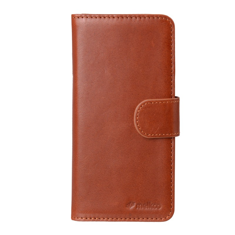 Mekco Alphard Wallet Case iPhone 6/6S Tan Brown - 1
