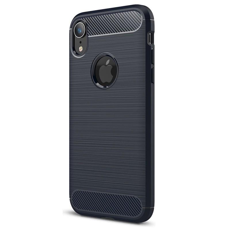 Mobiq Rugged Armor Case iPhone XR Blauw 01