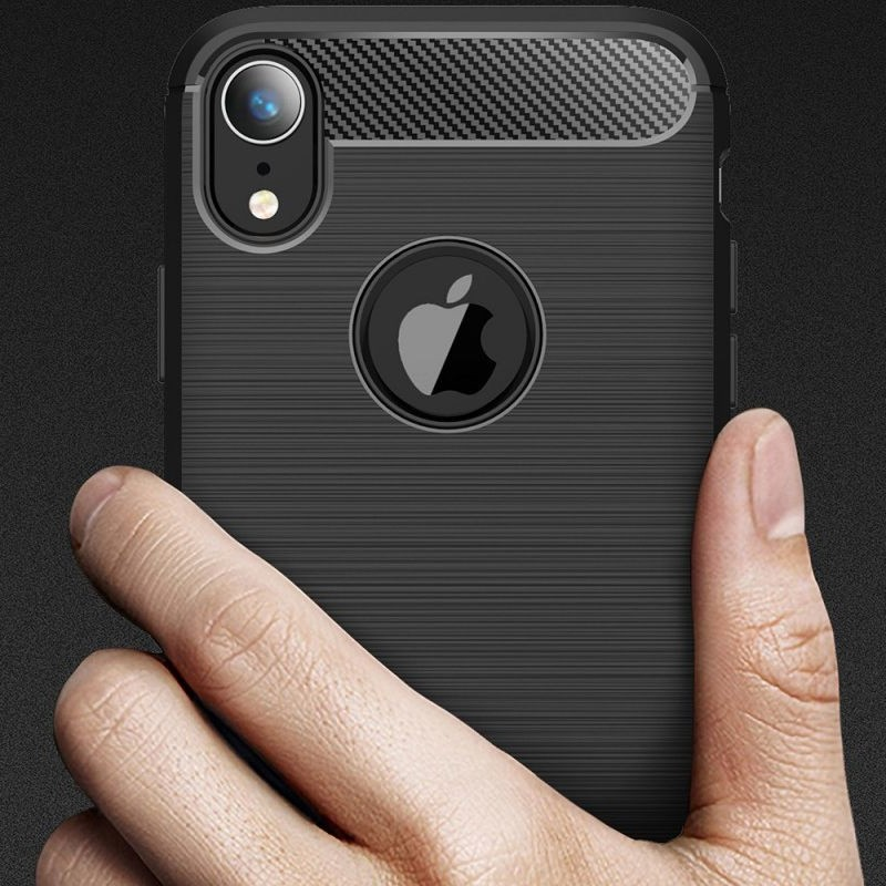 Mobiq Rugged Armor Case iPhone XR Zwart 06