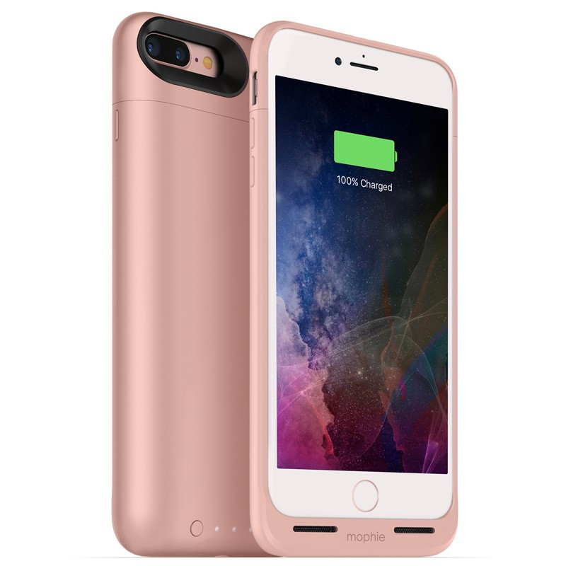 Mophie - Juice Pack Air iPhone 7 Plus Rose Gold 01