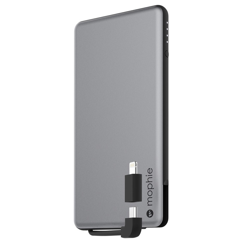 Mophie - Powerstation Plus Mini 4.000mAh Space Grey 01