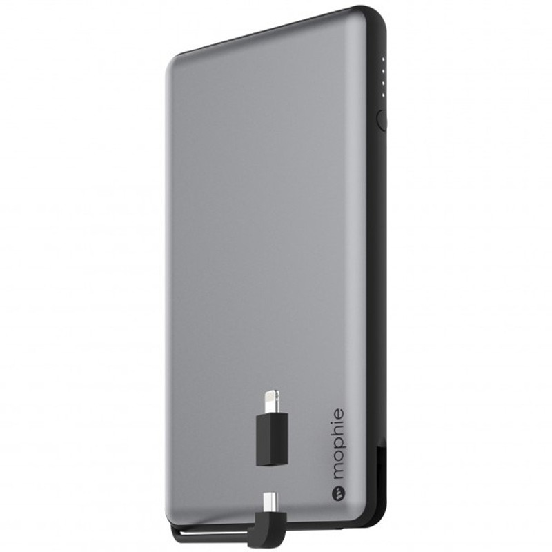 Mophie - Powerstation Plus XL 12.000mAh Space Grey 01