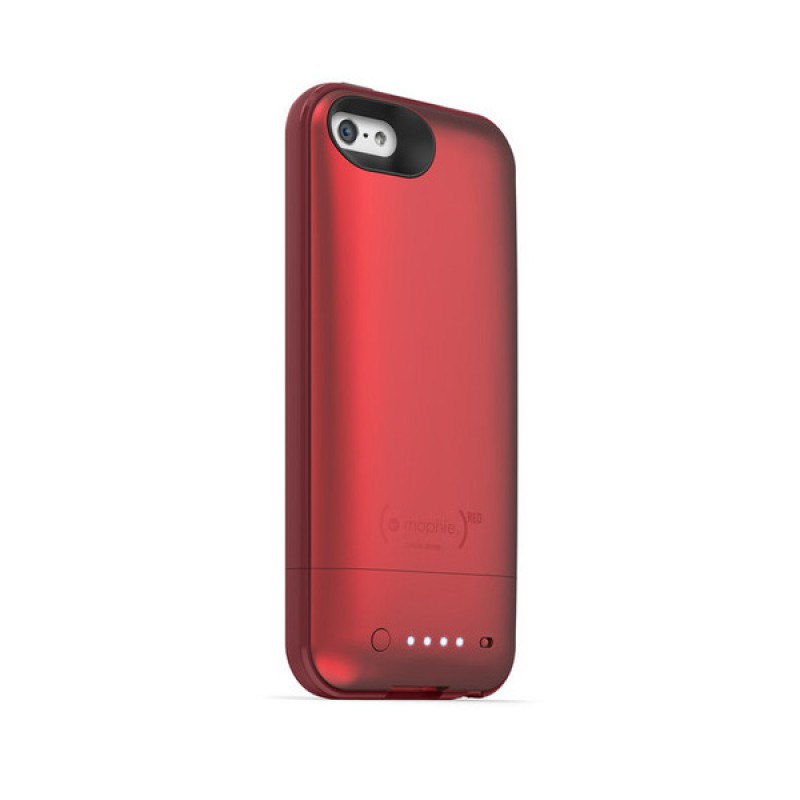 mophie juice pack plus iphone 5 (RED) - 2