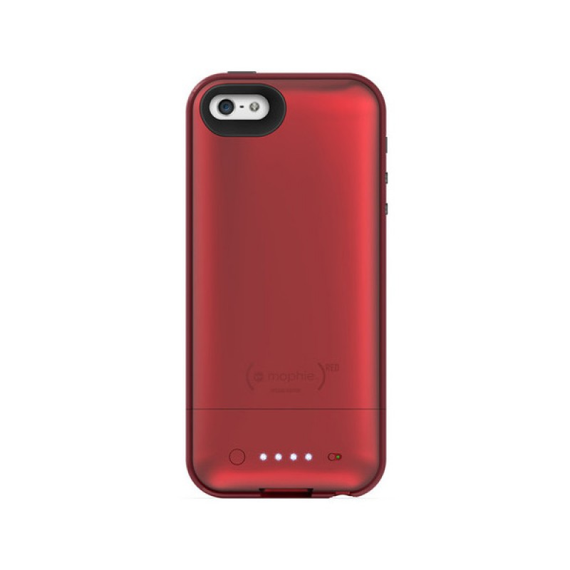 mophie juice pack plus iphone 5 (RED) - 3