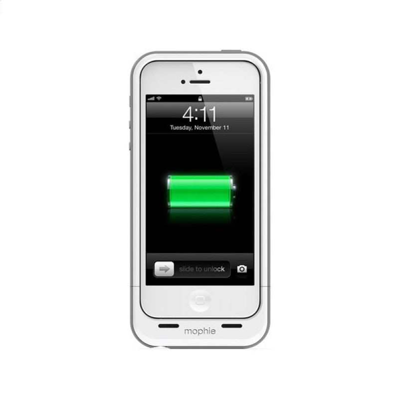 mophie juice pack plus iphone 5 White - 4