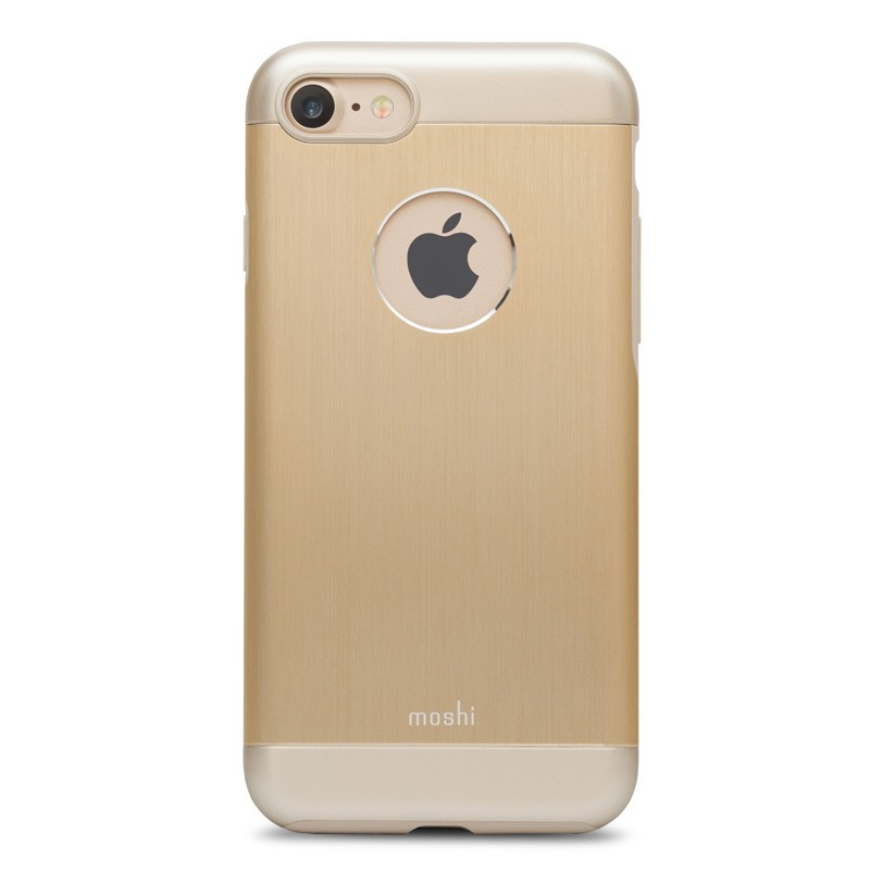 Moshi iGlaze Armour iPhone 7 Satin Gold - 1