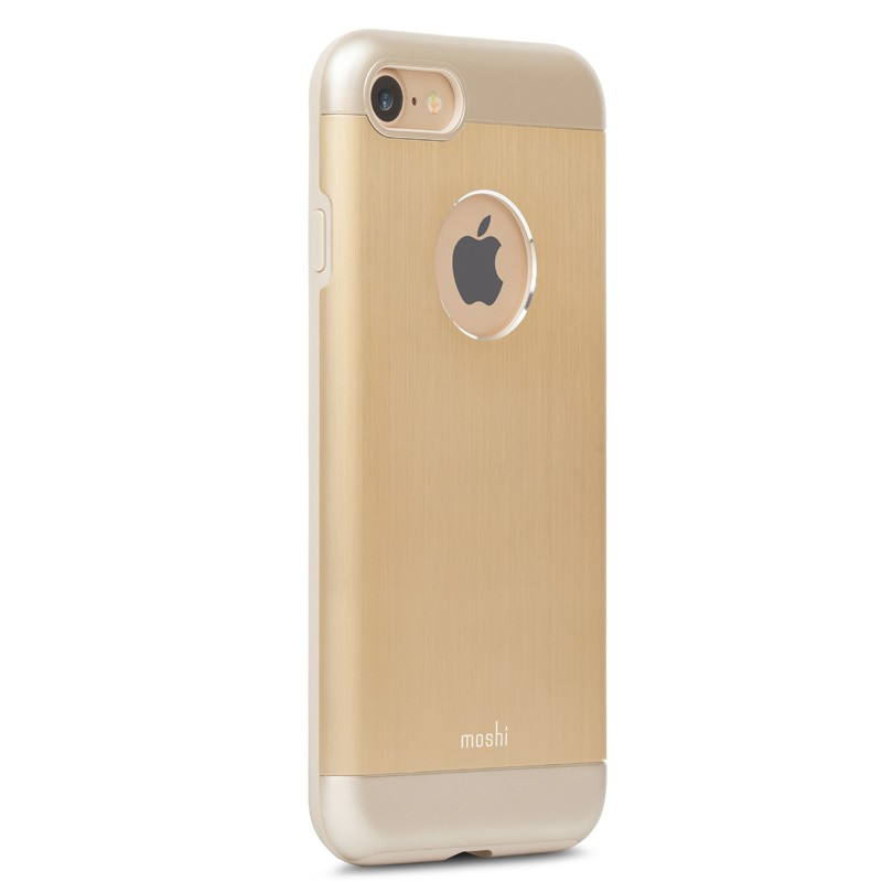 Moshi iGlaze Armour iPhone 7 Satin Gold - 2