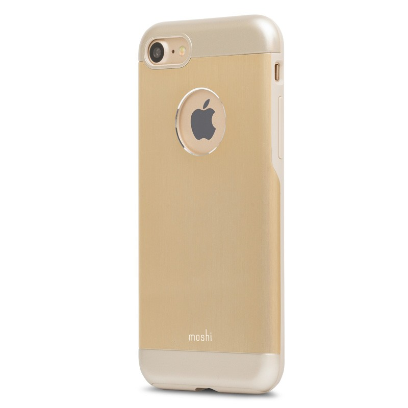 Moshi iGlaze Armour iPhone 7 Satin Gold - 3