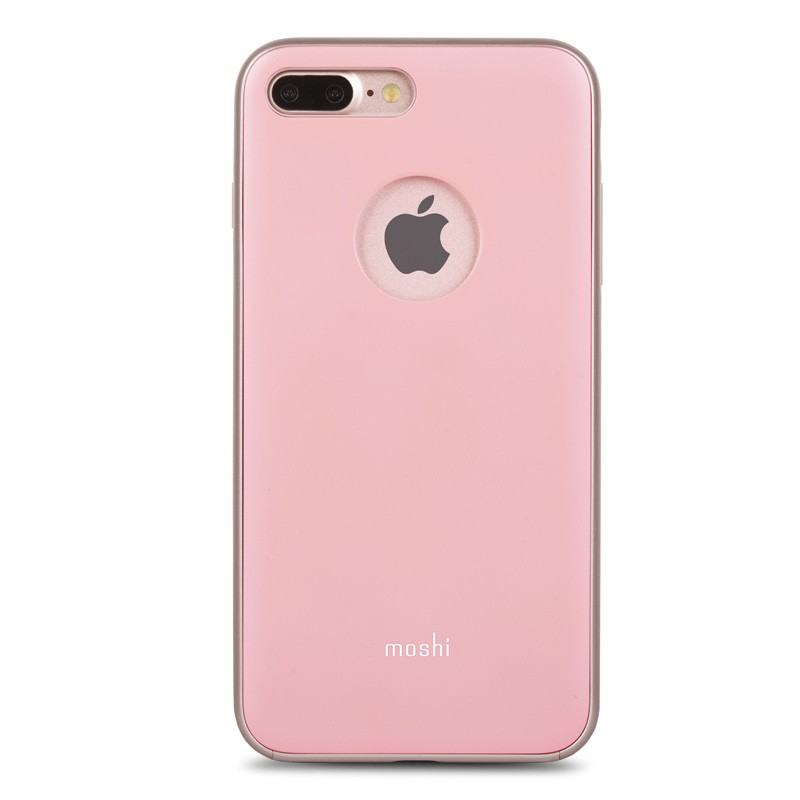 Moshi iGlaze Napa iPhone 7 Plus Blush Pink - 1