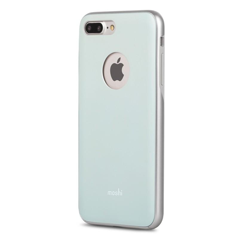 Moshi iGlaze Napa iPhone 7 Plus Powder Blue - 2