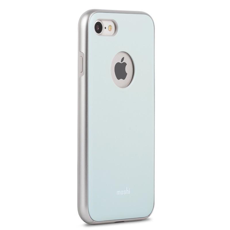 Moshi iGlaze Napa iPhone 7 Powder Blue - 3