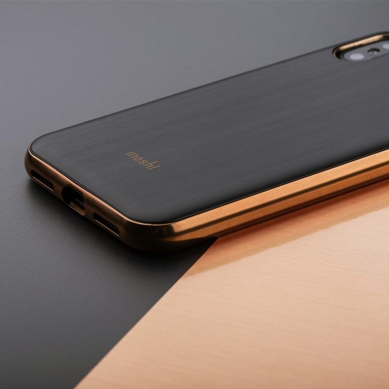 Moshi iGlaze iPhone X Imperial Black - 5