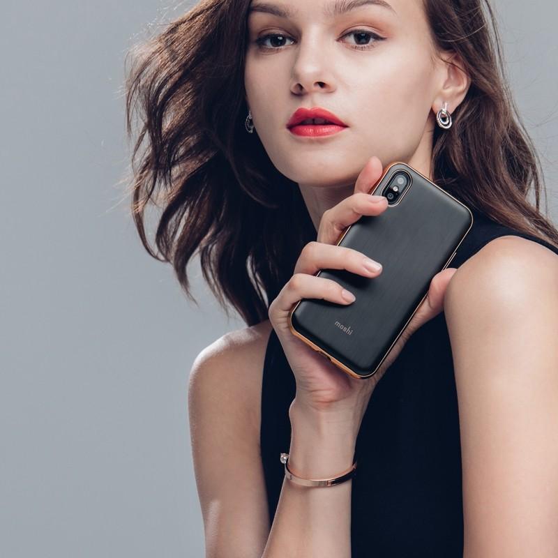 Moshi iGlaze iPhone X Imperial Black - 6