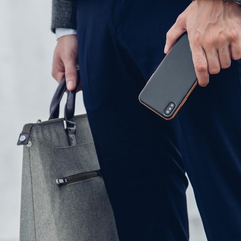 Moshi iGlaze iPhone X Imperial Black - 7