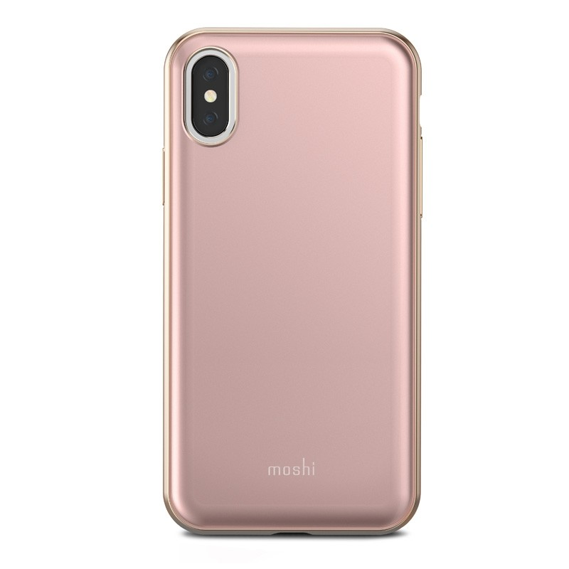 Moshi iGlaze iPhone X/Xs Taupe Pink - 2