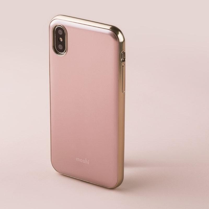 Moshi iGlaze iPhone X/Xs Taupe Pink - 5