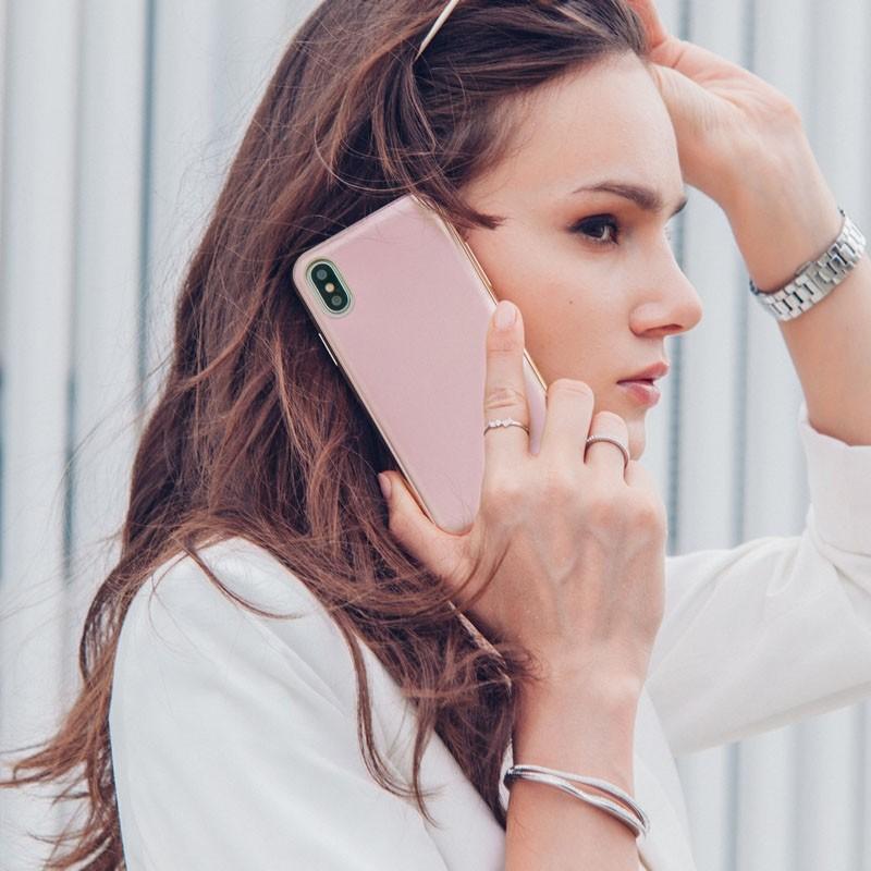 Moshi iGlaze iPhone X/Xs Taupe Pink - 6