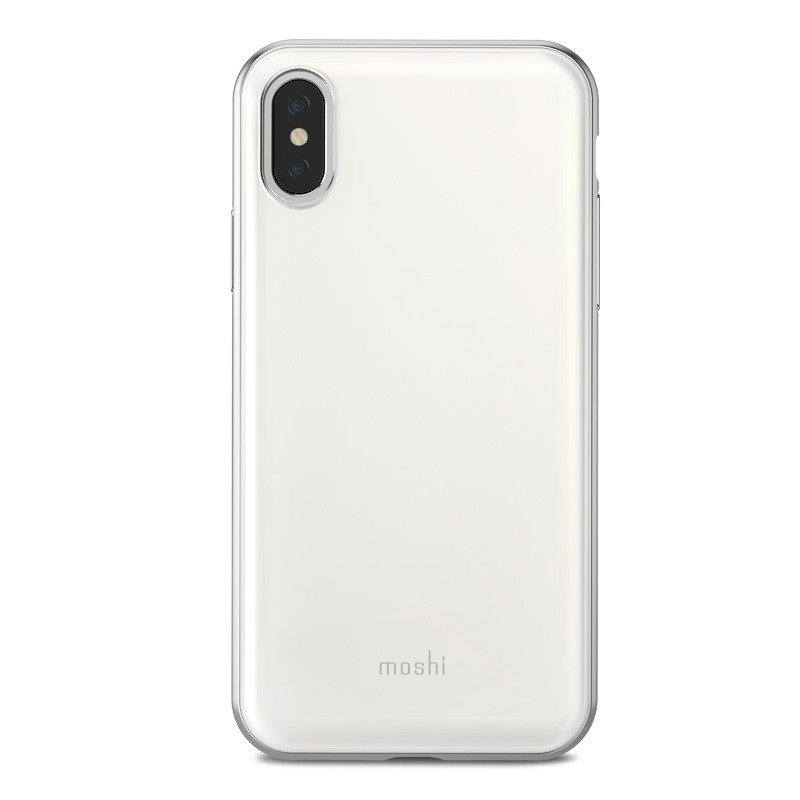 Moshi iGlaze iPhone X Pearl White - 2