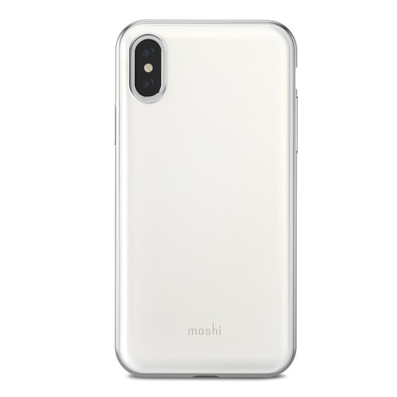 Moshi iGlaze iPhone X/Xs Pearl White - 2