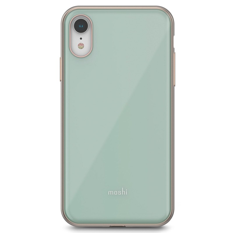 Moshi iGlaze iPhone XR Cover Blauw 01