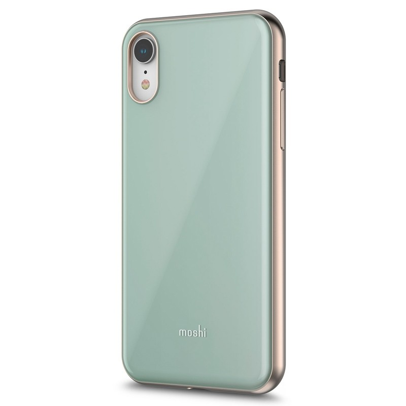 Moshi iGlaze iPhone XR Cover Blauw 02