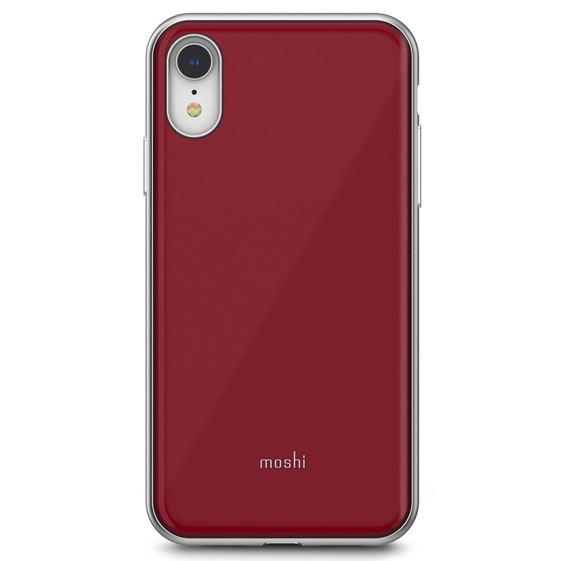 Moshi iGlaze iPhone XR Cover Rood 01
