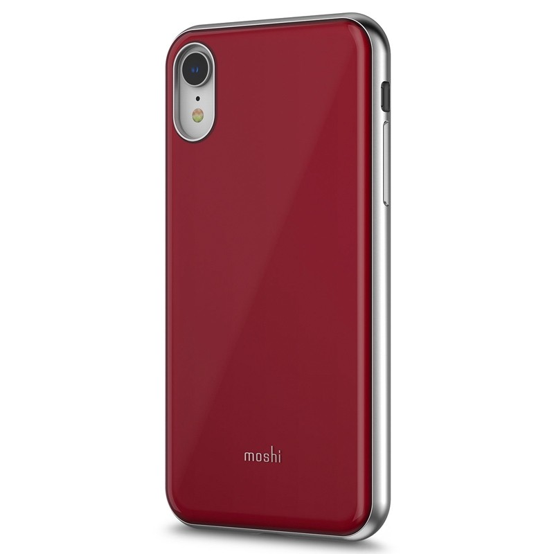 Moshi iGlaze iPhone XR Cover Rood 02