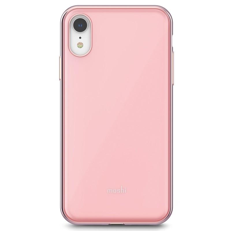 Moshi iGlaze iPhone XR Cover Roze 01