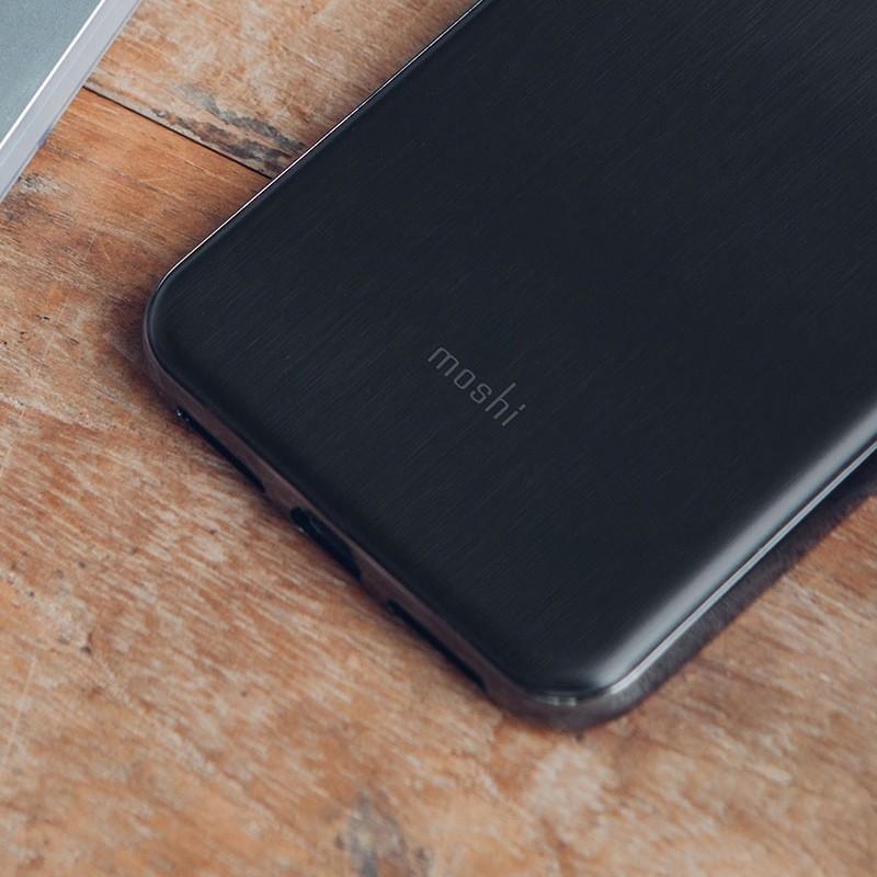 Moshi iGlaze iPhone XS Max Boekhoesje Armour Black 06
