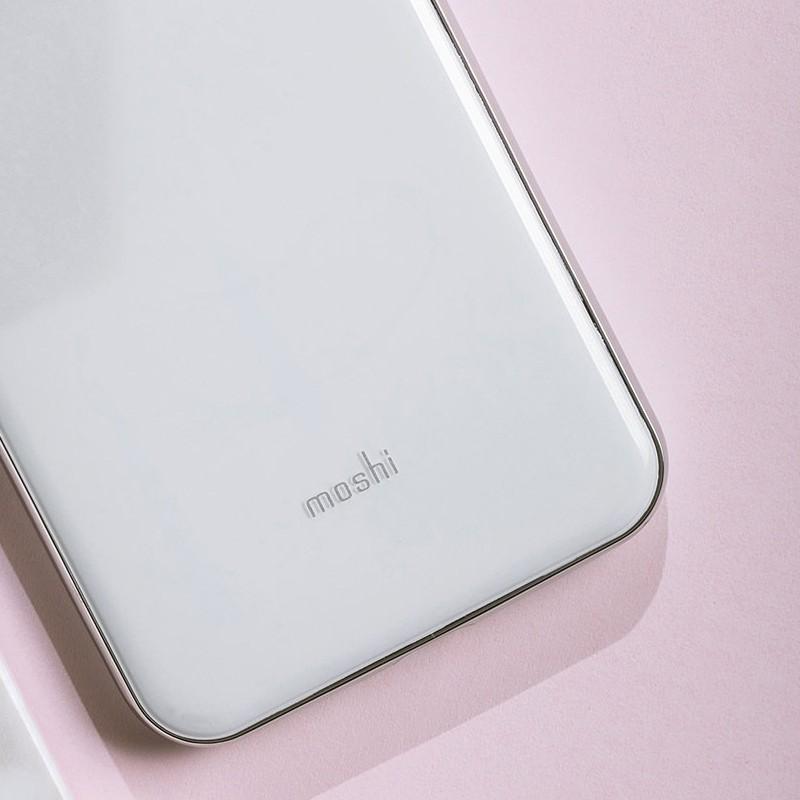Moshi iGlaze iPhone XS Max Hoesje Pearl White 06