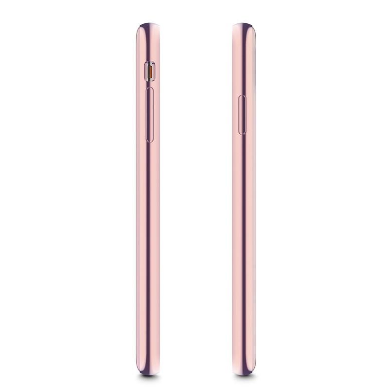 Moshi iGlaze iPhone XS Max Hoesje Taupe Pink 03