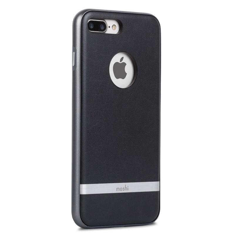 Moshi iGlaze Napa iPhone 7 Plus Charcoal Black - 1