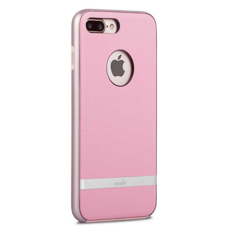 Moshi iGlaze Napa iPhone 7 Plus Melrose Pink - 3