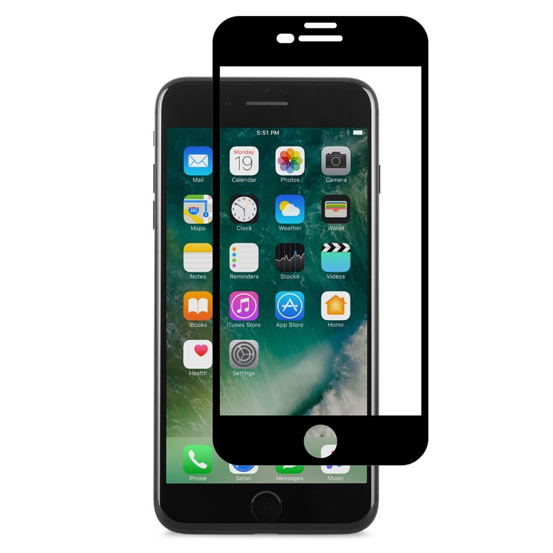 Moshi IonGlass iPhone 6/6S/7 Plus Black - 1