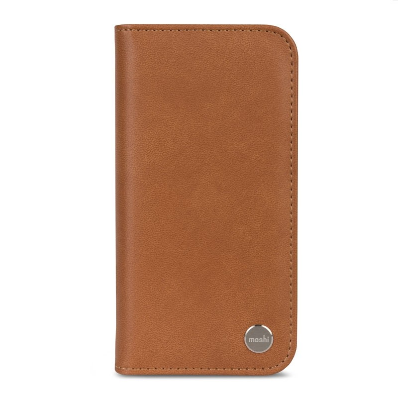 Moshi Overture iPhone X Wallet Caramel Brown - 2