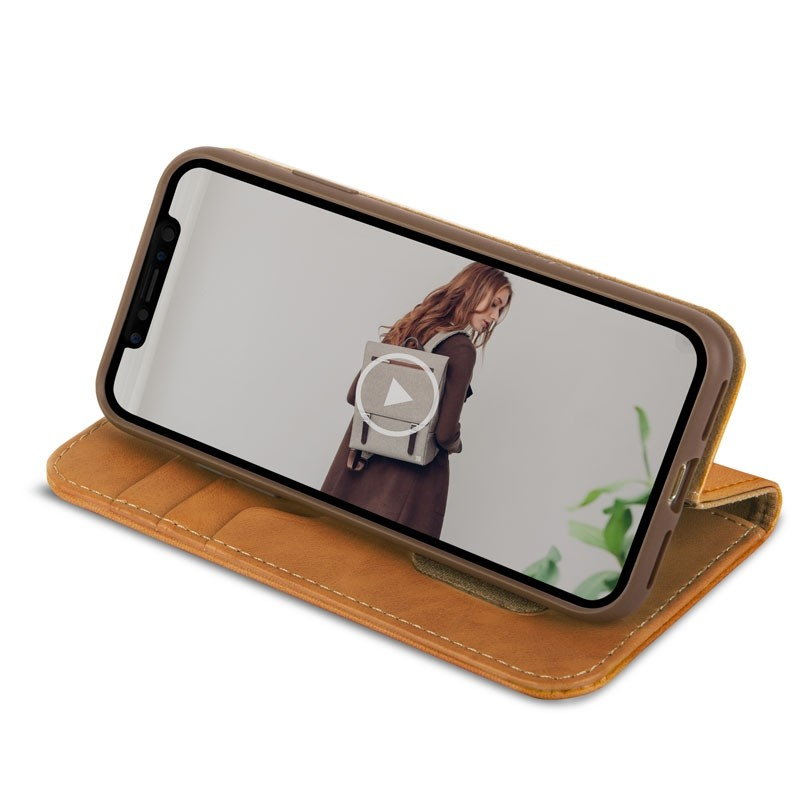 Moshi Overture iPhone X Wallet Caramel Brown - 5