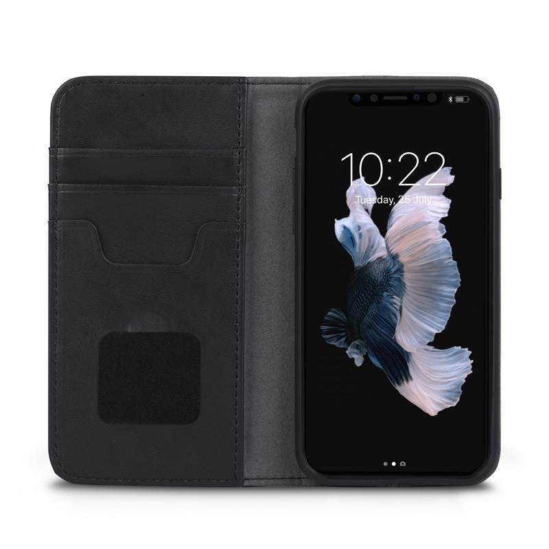 Moshi Overture iPhone X/Xs Wallet Charcoal Black - 1