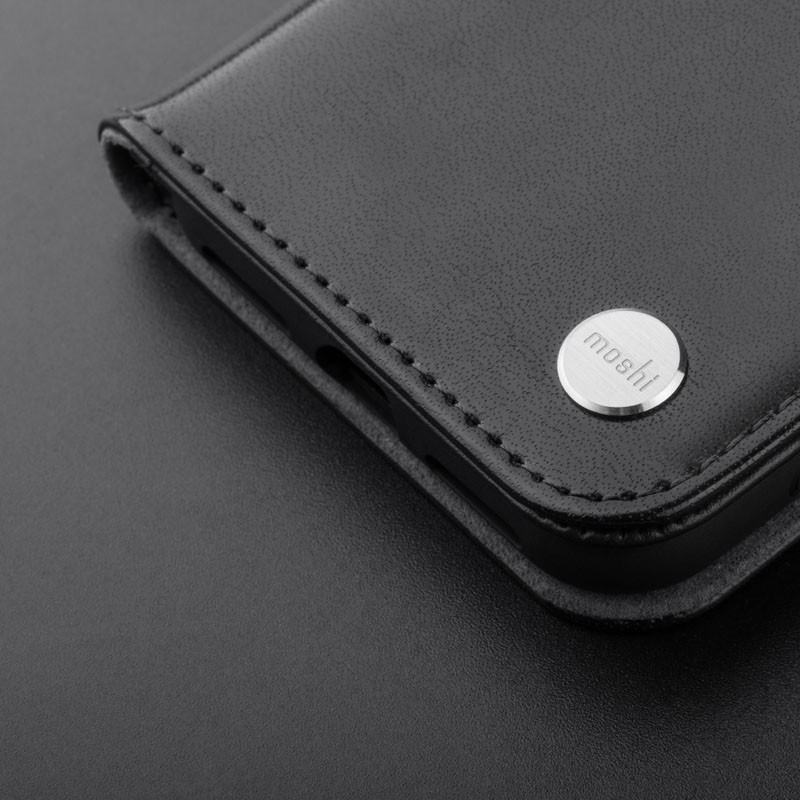 Moshi Overture iPhone X/Xs Wallet Charcoal Black - 6