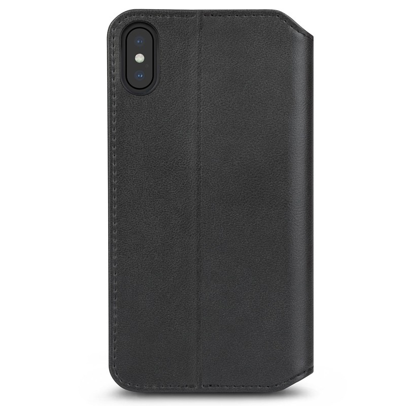 Moshi iGlaze iPhone XS Max Hoesje Charcoal Black 02