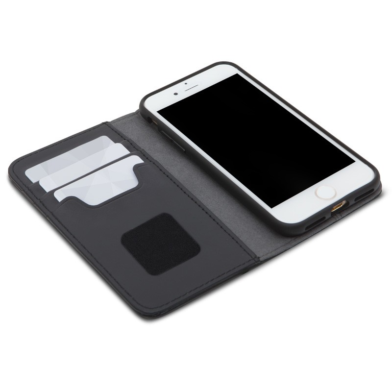 Moshi Overture Wallet iPhone 7 Charcoal Black - 6